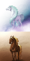 FFXIV - Primal Mounts by linnyxito