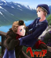 A Lake Of Norway _ Hetalia by bms-bal