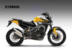 YAMAHA MT-09 TRIPLE CROSS OVER CONCEPT by obiboi