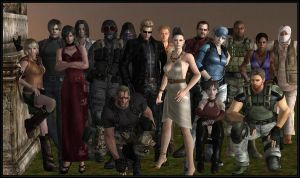 Resident evil group photo by Ada-hime