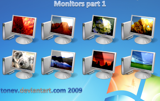 Vista 7 monitors part 1 by tonev