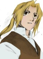 FMA-MOtempora's Edward Elric color by Nintendraw