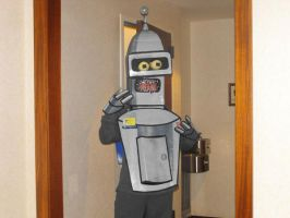 Bender cosplay by AbbieGoth