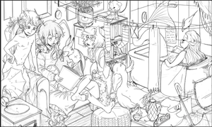 Clutter 2 W.I.P by shark-bomb