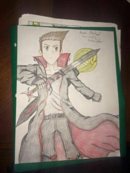 Anime Michael New Design by Gexzilla5