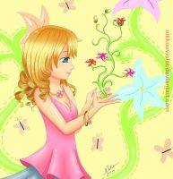 magical flowers by NikkouViolet