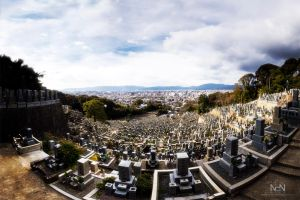 Cemetery Panorama by Ni0n