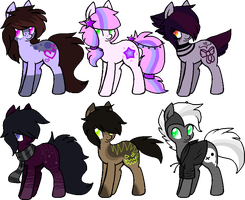 | Pony Adopts | closed :. by BIueMoon