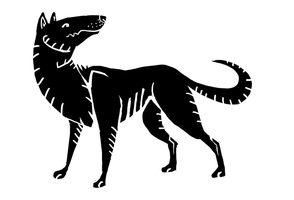 Lost-Athens Dog design by Mongrelistic