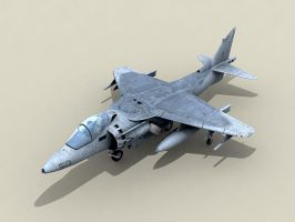 Harrier AV8 ingame by floydworx