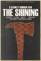 The Shining - Alt. Minimalist Poster by edwardjmoran
