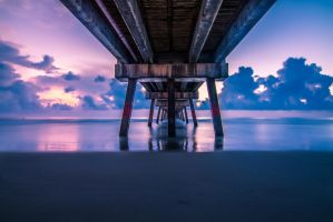 Under the Pier by 904PhotoPhactory