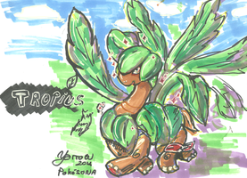 Tropius by yarrowW0W