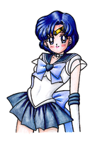 Sailor Mercury by Annie-sama