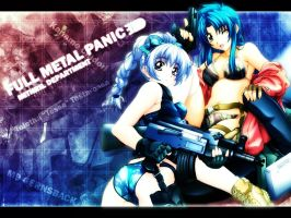 Full Metal Panic Wallpaper by Marzocchi05