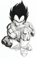 vegeta by dirtywhiteboy8