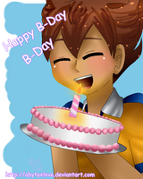 Happy b-Day To Silver-Tan by AbytaXlovE