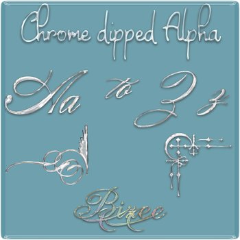 Chrome dipped alpha by Bizee1