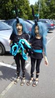 kids as chrysalis at galacon by Znegil