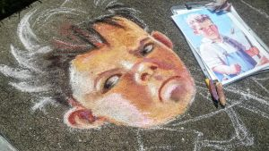 Young boy and girl on boat - Boy by charfade