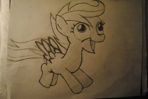 Derpy Scootaloo by TheLunarGuardian