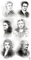 Avengers 'some assembly required' :commission: by malikaa