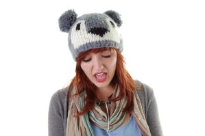 KOALA HAT by ChloePudding