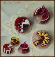 Cakes - Dream Food Contest by tishaia