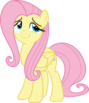 Fluttershy - Vector2 by Darknisfan1995