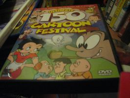 Ultimate 150 Cartoon DVD by TaionaFan369