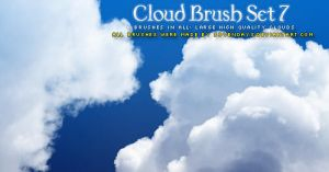 Cloud Brush Set 7 by s3vendays
