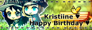 Happy Birthday xiKristine ID ~ by Coldent