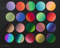 Colour Palettes by CosmosKitty