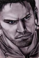 Chris Redfield by RebellionAngel