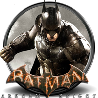 Batman Arkham Knight Icon by awsi2099