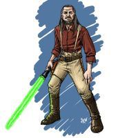 Qui Gon Reynolds Color by nevershop
