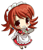 Maid01Chibi by Patrick-Theater