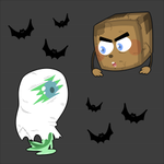 Tiny Box Tim and SepticeyeSam Spooky backgrounds! by Monodes