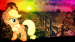[Wallpaper] Sunshine and Celery Stalks [MLP] by RicePoison