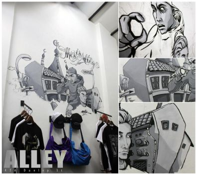 This Is Alley by Moisk