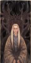 Hobbit - his majesty the elven king by PetitPotato