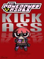 Hit-Girl - Red by thesometimers