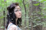 Circlet 'Mermaid's tears' by Madormidera
