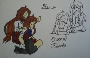 Ninjago oc's-Best friends #1 by MalikiFlowers30
