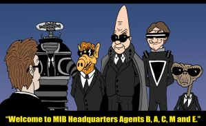 MIB Cadets by Lordwormm