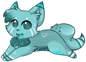 30 Point Blue Kitty Adopt CLOSED by StarSushi-Adopts