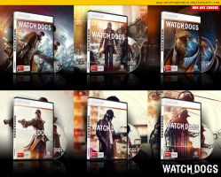 Watch Dogs Box Art Covers by archnophobia