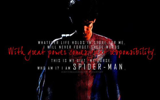 Andrew Garfield as Spider-Man by survivekaleidoscope