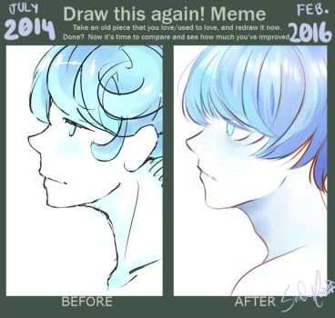 Before and After: Improvement Meme by RiceBalls4Me