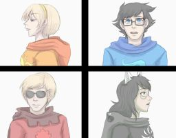 Homestuck - Beta Kids by Kireikage